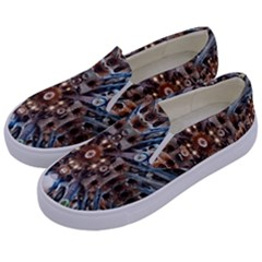 Iron Glass Space Light Kids  Canvas Slip Ons by Mariart