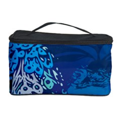 Peacock Bird Blue Animals Cosmetic Storage Case by Mariart