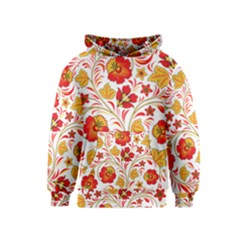 Wreaths Flower Floral Sexy Red Sunflower Star Rose Kids  Pullover Hoodie by Mariart