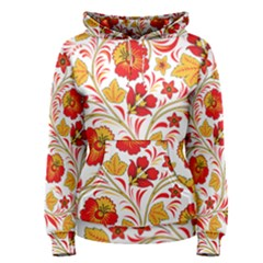 Wreaths Flower Floral Sexy Red Sunflower Star Rose Women s Pullover Hoodie