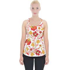 Wreaths Flower Floral Sexy Red Sunflower Star Rose Piece Up Tank Top