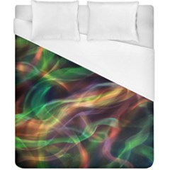 Abstract Shiny Night Lights 3 Duvet Cover (california King Size) by tarastyle