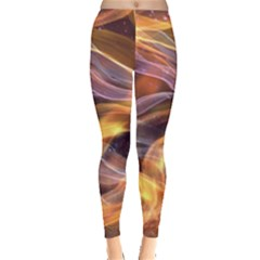 Abstract Shiny Night Lights 6 Leggings  by tarastyle