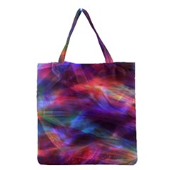 Abstract Shiny Night Lights 7 Grocery Tote Bag