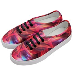 Abstract Shiny Night Lights 9 Women s Classic Low Top Sneakers by tarastyle