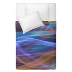 Abstract Shiny Night Lights 16 Duvet Cover Double Side (single Size) by tarastyle