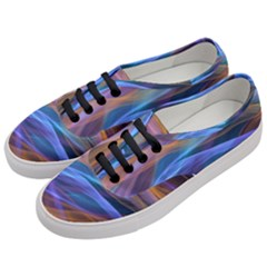 Abstract Shiny Night Lights 16 Women s Classic Low Top Sneakers by tarastyle