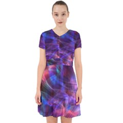 Abstract Shiny Night Lights 20 Adorable In Chiffon Dress