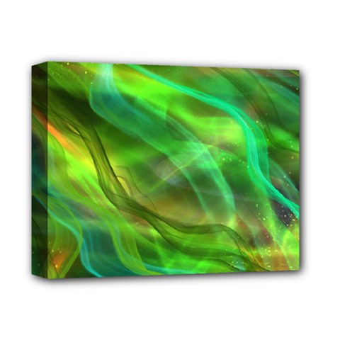 Abstract Shiny Night Lights 21 Deluxe Canvas 14  X 11  by tarastyle