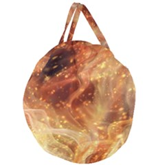 Abstract Shiny Night Lights 22 Giant Round Zipper Tote by tarastyle
