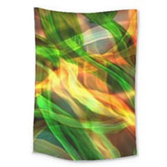 Abstract Shiny Night Lights 24 Large Tapestry by tarastyle