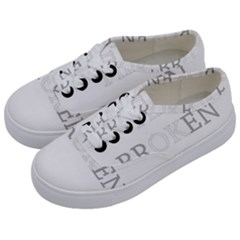 I Am Ok   Broken Kids  Classic Low Top Sneakers by Valentinaart