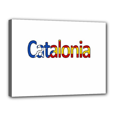 Catalonia Canvas 16  X 12  by Valentinaart