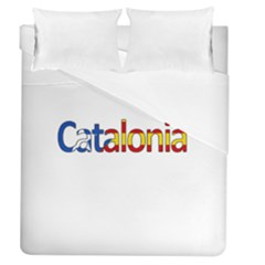 Catalonia Duvet Cover (queen Size) by Valentinaart