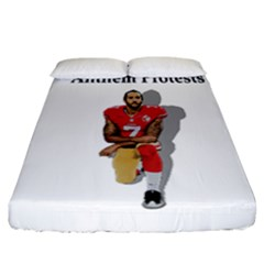 National Anthem Protest Fitted Sheet (california King Size)