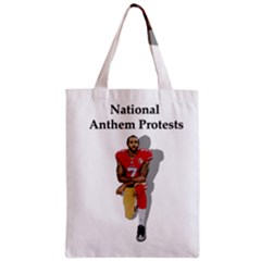 National Anthem Protest Zipper Classic Tote Bag by Valentinaart