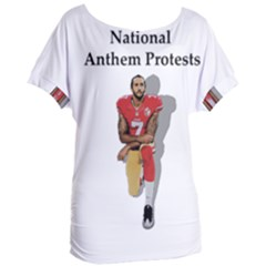 National Anthem Protest Women s Oversized Tee