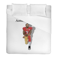 National Anthem Protest Duvet Cover (full/ Double Size)