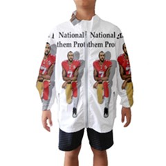 National Anthem Protest Wind Breaker (kids) by Valentinaart