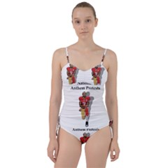 National Anthem Protest Sweetheart Tankini Set by Valentinaart