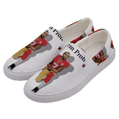 National Anthem Protest Men s Canvas Slip Ons by Valentinaart