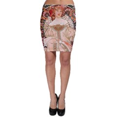 Alfons Mucha   F  Champenois Imprimeur ¨|diteur Bodycon Skirt by 8fugoso