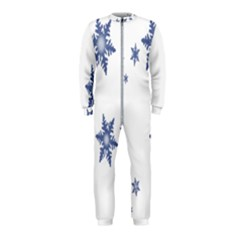Star Snow Blue Rain Cool Onepiece Jumpsuit (kids) by AnjaniArt