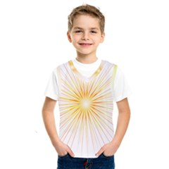 Fireworks Light Yellow Space Happy New Year Red Kids  Sportswear