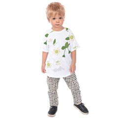 Flower Floral Sakura Kids Raglan Tee by AnjaniArt