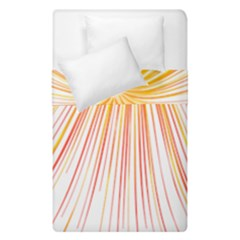 Fireworks Yellow Light Duvet Cover Double Side (single Size)