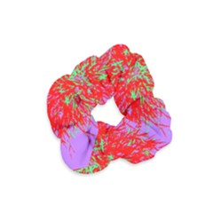 Spot Paint Red Green Purple Sexy Velvet Scrunchie by AnjaniArt