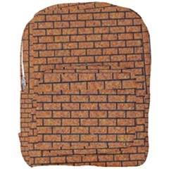 Brick1 Black Marble & Rusted Metal Full Print Backpack by trendistuff