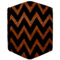 CHEVRON9 BLACK MARBLE & RUSTED METAL (R) Apple iPad Pro 12.9   Flip Case View3