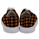 CIRCLES1 BLACK MARBLE & RUSTED METAL (R) Kids  Low Top Canvas Sneakers View4