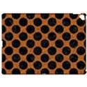 CIRCLES2 BLACK MARBLE & RUSTED METAL Apple iPad Pro 12.9   Hardshell Case View1