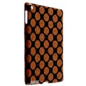 CIRCLES2 BLACK MARBLE & RUSTED METAL (R) Apple iPad 3/4 Hardshell Case (Compatible with Smart Cover) View2