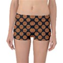 CIRCLES2 BLACK MARBLE & RUSTED METAL (R) Reversible Boyleg Bikini Bottoms View3