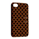 CIRCLES3 BLACK MARBLE & RUSTED METAL (R) Apple iPhone 4/4S Hardshell Case with Stand View2