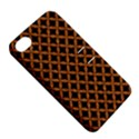 CIRCLES3 BLACK MARBLE & RUSTED METAL (R) Apple iPhone 4/4S Hardshell Case with Stand View5