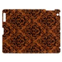 DAMASK1 BLACK MARBLE & RUSTED METAL Apple iPad 3/4 Hardshell Case View1