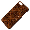 DAMASK1 BLACK MARBLE & RUSTED METAL Apple iPhone 5 Hardshell Case with Stand View4