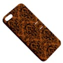 DAMASK1 BLACK MARBLE & RUSTED METAL Apple iPhone 5 Hardshell Case with Stand View5