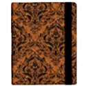 DAMASK1 BLACK MARBLE & RUSTED METAL Samsung Galaxy Tab 10.1  P7500 Flip Case View3