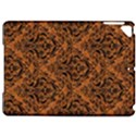 DAMASK1 BLACK MARBLE & RUSTED METAL Apple iPad Pro 9.7   Hardshell Case View1