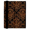 DAMASK1 BLACK MARBLE & RUSTED METAL (R) Samsung Galaxy Tab 8.9  P7300 Flip Case View3