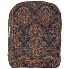 DAMASK1 BLACK MARBLE & RUSTED METAL (R) Full Print Backpack