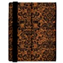 DAMASK2 BLACK MARBLE & RUSTED METAL Samsung Galaxy Tab 8.9  P7300 Flip Case View3