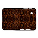 DAMASK2 BLACK MARBLE & RUSTED METAL Samsung Galaxy Tab 2 (7 ) P3100 Hardshell Case  View1