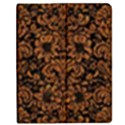 DAMASK2 BLACK MARBLE & RUSTED METAL (R) Apple iPad 3/4 Flip Case View1