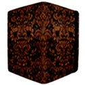 DAMASK2 BLACK MARBLE & RUSTED METAL (R) Apple iPad 3/4 Flip Case View4